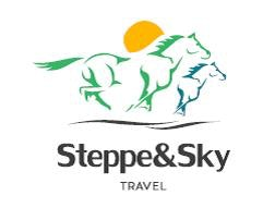 Steppe and sky Travel