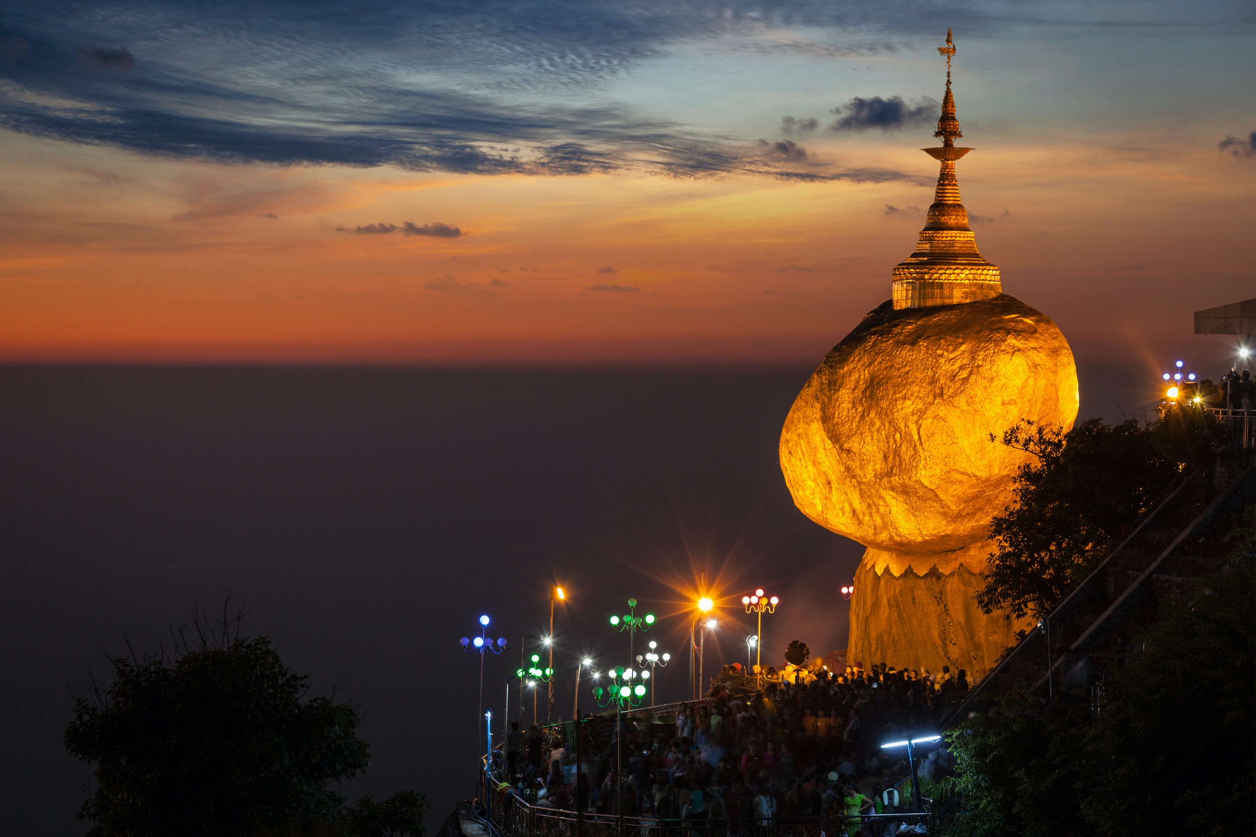 colors of Myanmar